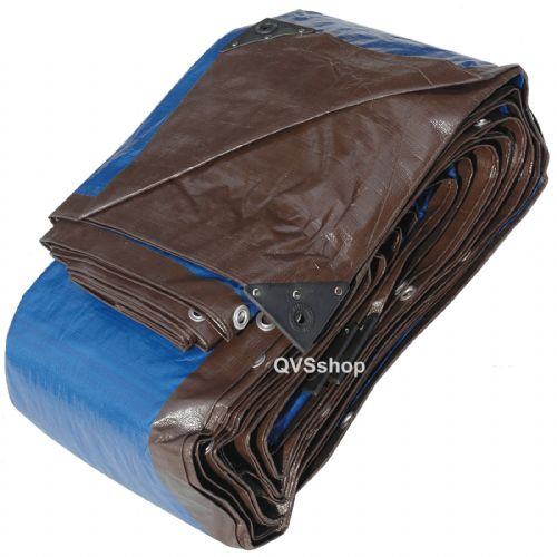 Heavy Duty Brown/Blue Tarpaulins